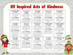 """Holiday Freebie! Bring holiday cheer and kindness to your classroom with this """"Elf on a Shelf"""" inspired product."""