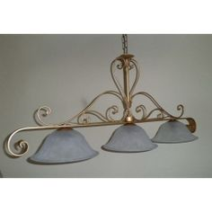 Wrought Iron Chandelier. Customize Realisations. 220