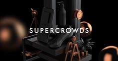 Super Crowds inc. is a creative firm located in Tokyo, where unique talent with various skills gather to create.
