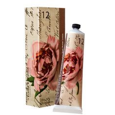 Gin & Rosewater, No. 12--    Unexpected essences are crushed & distilled then blended with extracts of Japanese Green Tea, Mimosa Bark & Dandelion and enveloped in moisture-rich Shea Butter to create this coveted treasure.    Key Ingredients: Japanese Green Tea, Mimosa Bark and Dandelion with rich Shea Butter.