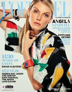 Angela Lindvall for L'Officiel Turkey (April 2014) - http://qpmodels.com/american-models/angela-lindvall/6982-angela-lindvall-for-lofficiel-turkey-april-2014.html