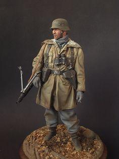 Waffen-SS machine gunner