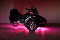 Can-Am Spyder RTS FUSION 21 Color LED Lighting System
