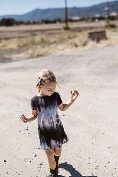 Any Wear Dress - Many Colors - Little Faces Apparel. Girl's tie dye dress, girl's dresses, toddler girl fashion, baby girl dress.