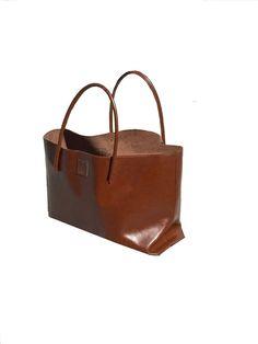 große Leder Tasche Ledereinkaufstasche ausgefallene Tragetasche Ledertasche Shopper Einkaufsshopper used look Vintage Style handmade von Goldtaschen auf Etsy