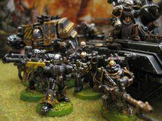 Chaos Space Marines der Legion Iron Warriors - WH40k | Eure Streitmächte und Sammlungen - Tabletop-Emsland.de | Deine Anlaufstelle für Tabeltops im Kreis Emsland und Umgebung
