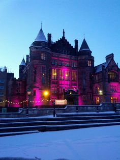 Teviot Row House, or Teviot, is one of the student union buildings at Edinburgh University, Scotland