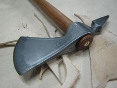 Detail of tomahawk head by Neels Van Den Berg (https://www.facebook.com/neels.vandenberg) - Rgrips.com