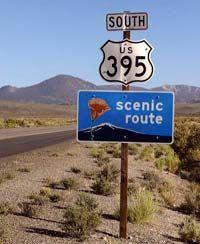 Best road trips - US-395