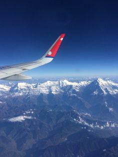 V oblacích nad Nepalem