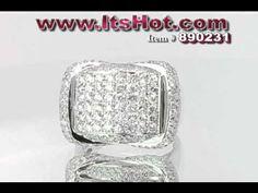 ItsHot.com Reviews Jewelry: Luxurious Mens Diamond Ring - http://videos.silverjewelry.be/rings/itshot-com-reviews-jewelry-luxurious-mens-diamond-ring/
