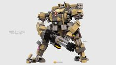 """Archer Class Mech"" by clmntin.E: Pimped from Flickr"