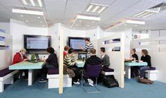 library pods - Bournemouth University