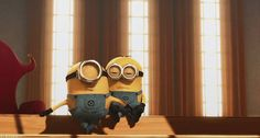 MINION TOUR JETE (Stuart and Jerry) (click through for gif)