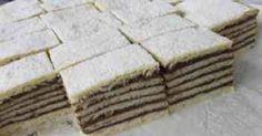 Hatlapos – Anyukám jut eszembe erről a hatlaposról - Ez Szuper Gourmet Recipes, Cake Recipes, Dessert Recipes, Cooking Recipes, Hungarian Cake, Hungarian Recipes, Hungarian Food, Twisted Recipes, What To Make