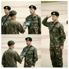 Soldier wang and bambam