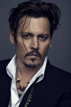 JOHNNY DEPP FOR DIOR