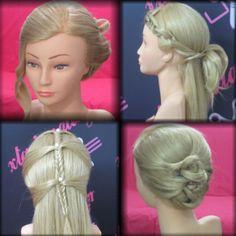 #Christmas #hairstyles  #Prom hairstyles #hairtutorials