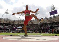 The Athletic Yell: Ashton Eaton (United States), Men's Decathlon, Track and Field, Aug. 8