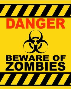 Halloween Signs Halloween is a busy time for parents as they are often hurrying for buying decorations for house and costumes for their children. Dead Ends Hair, Halloween Signs, Halloween Zombie, Plants Vs Zombies, Staying Alive, Cool Posters, Zombie Apocalypse, Printables, Poster Prints