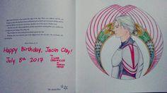 Happy Birthday, Jacin Clay! Colored by Athena's Nerdy Fangirl