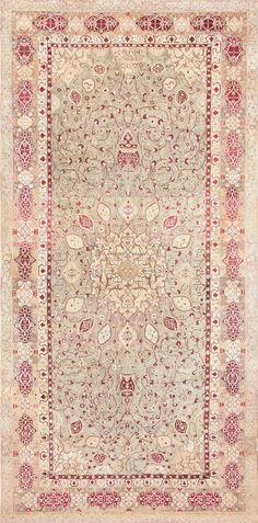 Antique Agra carpet India 47434 http://nazmiyalantiquerugs.com/antique-rugs/antique-agra-rugs/antique-agra-carpet-india-47434/