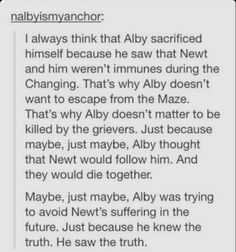 UUUUUUUGGGHHHHH MY HEART!....MY.....HEART.....JUST......EXPLODED!!!! NO NO NOOOOOOO THIS CANT BE!!!!! ITS A GOOD THEORY BUT WHY!!!!!??? NOOOOOOO POOR NEWT! OF ALL PEOPLE HE HAD TO NOT BE IMMUNE!!!!