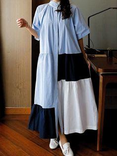 Pakistani Fashion Casual, Iranian Women Fashion, Abaya Fashion, Muslim Fashion, Fashion Dresses, Abaya Mode, Mode Hijab, A Line Long Dress, Mode Kimono