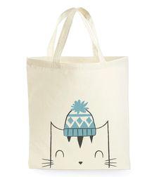 Cat tote bag - Tote bag - Cat book bag - School bag - Totes - Cat Bag - Cat illustration - Kitty Tote Bag - Reusable Shopping Bag by minifelts on Etsy https://www.etsy.com/listing/238437243/cat-tote-bag-tote-bag-cat-book-bag