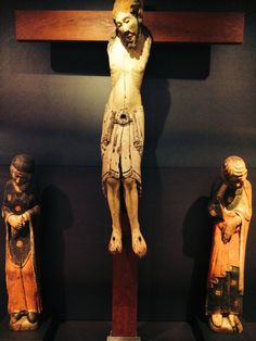 "Museo de León. ""Calvario de Corullón"". Segunda mitad del siglo XII"