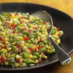 Herbed Corn and Edamame Succotash