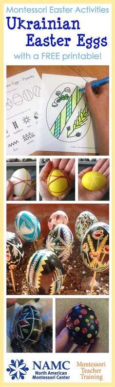 A great post on traditional Ukrainian Easter eggs, or Pysanky. Activities for both preschool and elementary classrooms, as well as including a complimentary printable for you to enjoy!