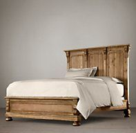 St. James Panel Bed Without Footboard