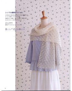 Crochet shawls & stoles 2014 by MinjaB