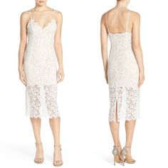Bardot Sienna Lace Midi Dress #dress #formaldress #womenfashion