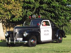 1940 Plymouth Police Car