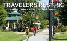 Here's another Coolest Small Towns 2014 finalist: Travelers Rest, SC! Just a few days left: visit BudgetTravel.com to vote now!
