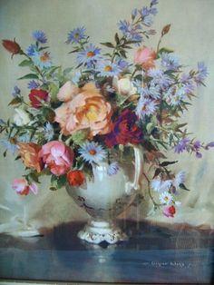vernon ward | Pretty Vernon Ward Floral Print