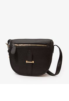 Faux Leather Crossbody -- FOREVER21