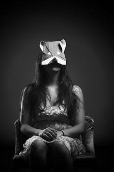 Origami Animal Mask Design By Francesca Lombardi