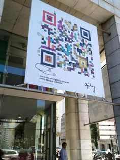 QR design by Ogilvy#Repin By:Pinterest++ for iPad#