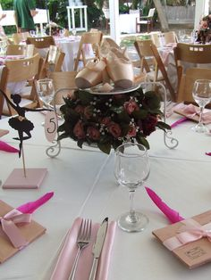 centerpiece - Ballet theme party, Bekah...ideas? I know you're in charge of this...