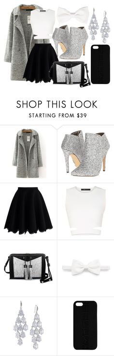"""""""you are the only exception"""" by cutiepiemandiii ❤ liked on Polyvore featuring Michael Antonio, Chicwish, BCBGMAXAZRIA, Carianne Moore, Brioni, Carolee, Maison Takuya, women's clothing, women and female"""