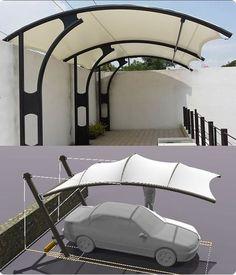 Cantilever Carport, Carport Patio, Carport Kits, Car Canopy, Patio Canopy, Canopy Outdoor, Carport Designs, Garage Design, House Design