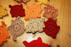fall leaves, free crochet patterns   make handmade, crochet, craft