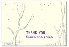 Thank You Notes That Grow (50ct) - recycled and seeded paper | Green Bride Guide