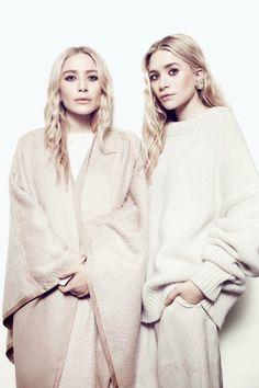 Mary-Kate 與 Ashley Olsen 的時尚雙胞胎進化論