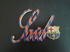 letrero infantil said barcelona