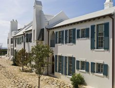 Award-winning architecture of the homes and buildings in Alys Beach.  http://www.alysbeach.com/