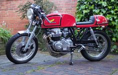 One Cafe Racer.......for sale.
